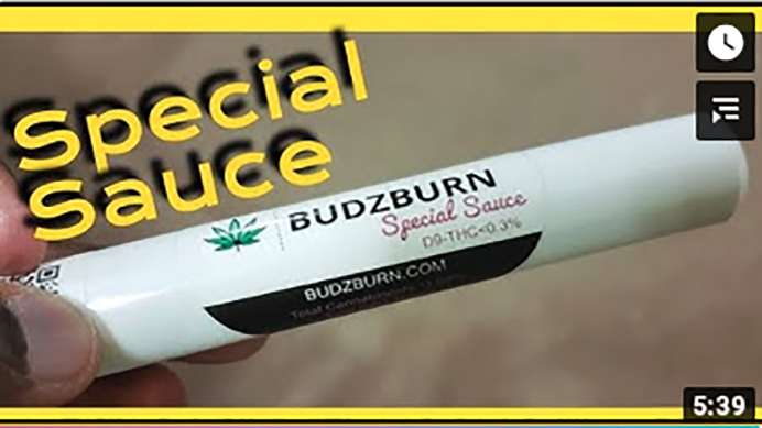 Sarkaz Special Sauce CBD Distillate Isolate Delta 8 Preroll Review